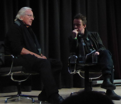John Pilger at the British Library, in conversation with Gareth Evans, 10 December 2017